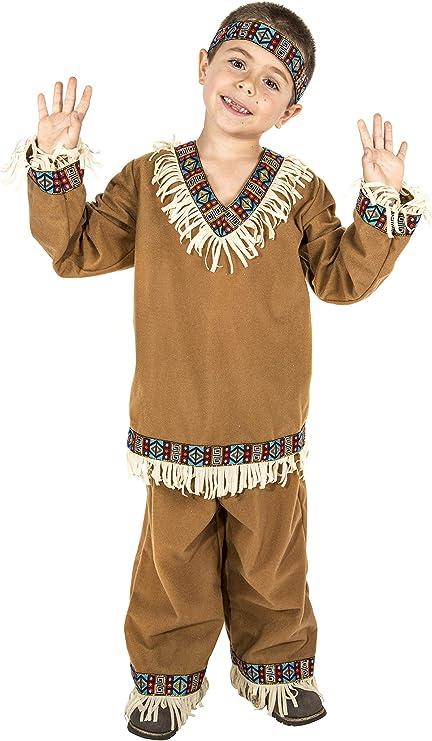 Costumizate! Disfraz de Indio Talla 5-6 Especial para niños ...