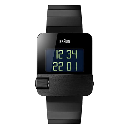 903f5e868 Image Unavailable. Image not available for. Colour: Braun Men's Prestige  Watch with Digital Display Black ...