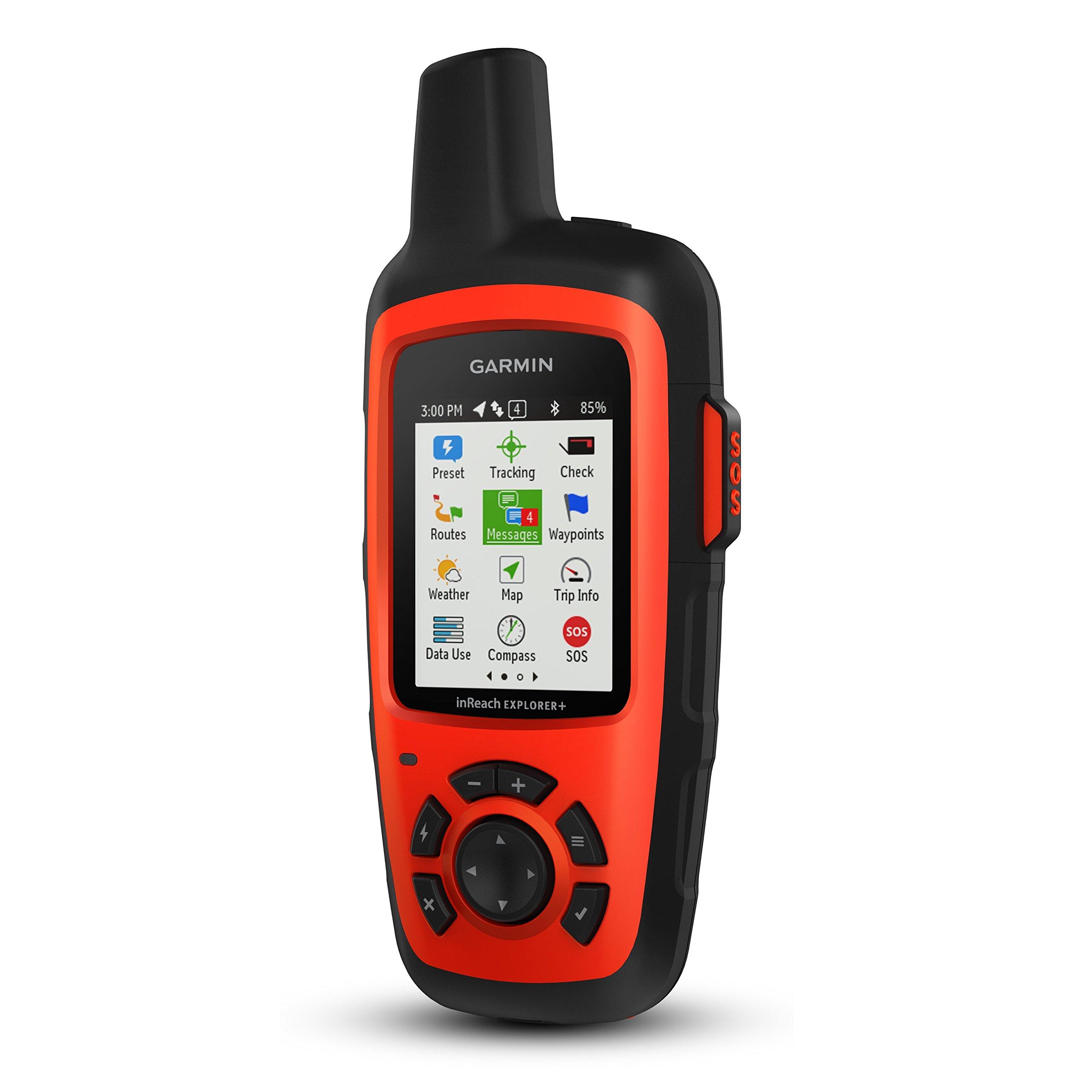 Garmin InReach Explorer+ Handheld Satellite Communicator with GPS Navigation, Maps, and Sensors 010-01735-10 and Wearable4U Ultimate Power Pack Bundle by Wearable4u (Image #2)