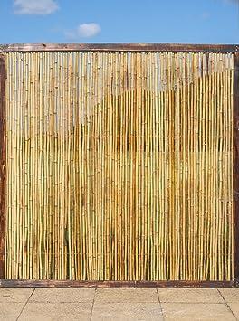 Panneau de Clôture en Bambou - 90 x 180cm: Amazon.fr: Jardin