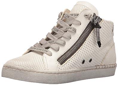 cbdcb8f0945 Dolce Vita Women s Zabra Fashion Sneaker White 7.5 UK 7.5 ...