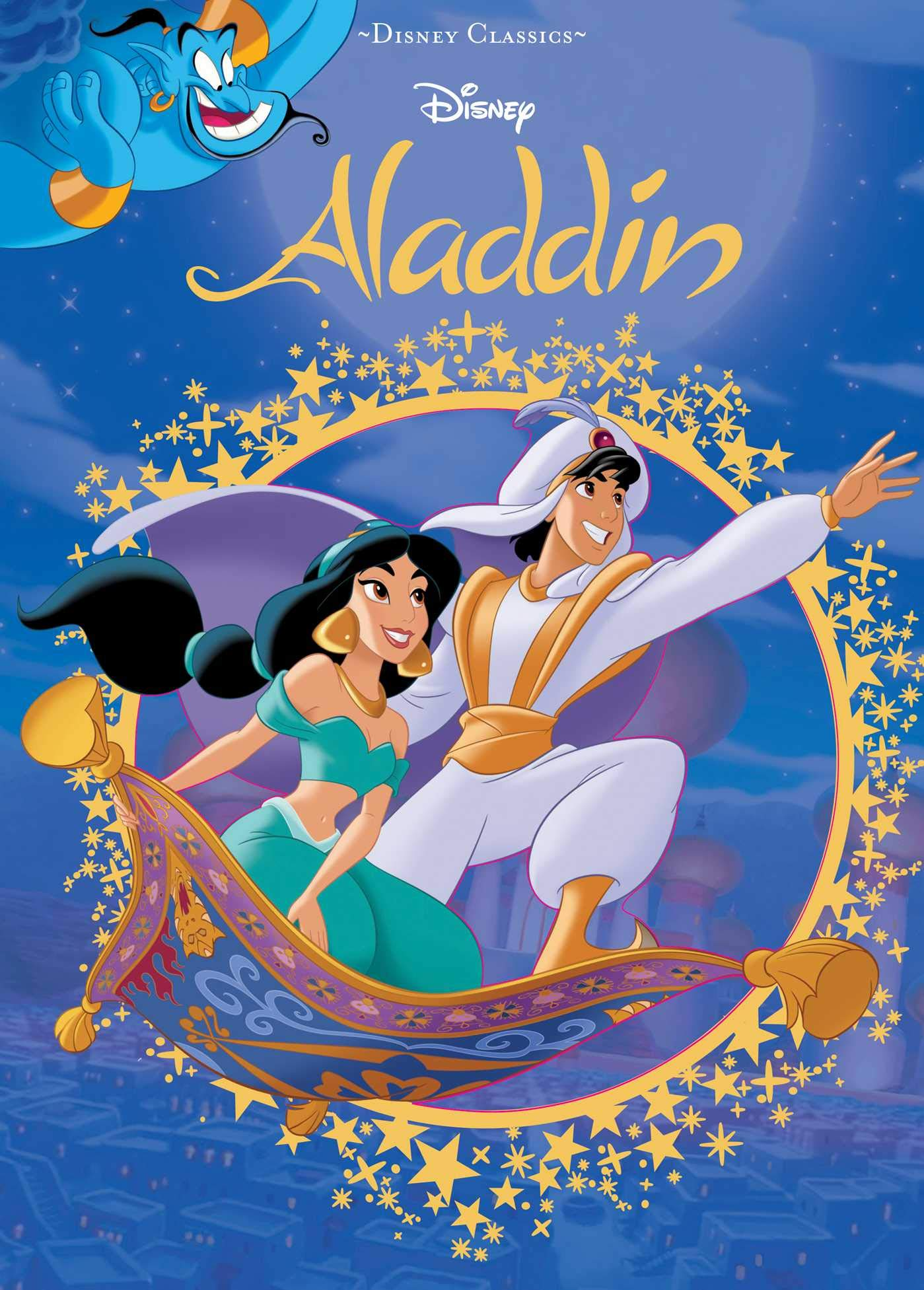 Amazon Com Disney Aladdin Disney Die Cut Classics 9780794443511