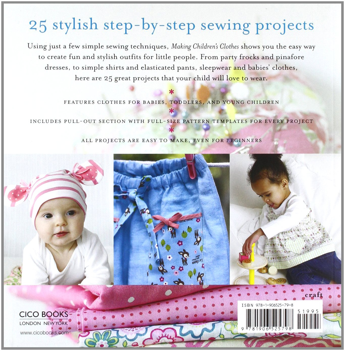 a8bf5193dc34 Making Children s Clothes  25 step-by-step sewing projects for 0-5 ...