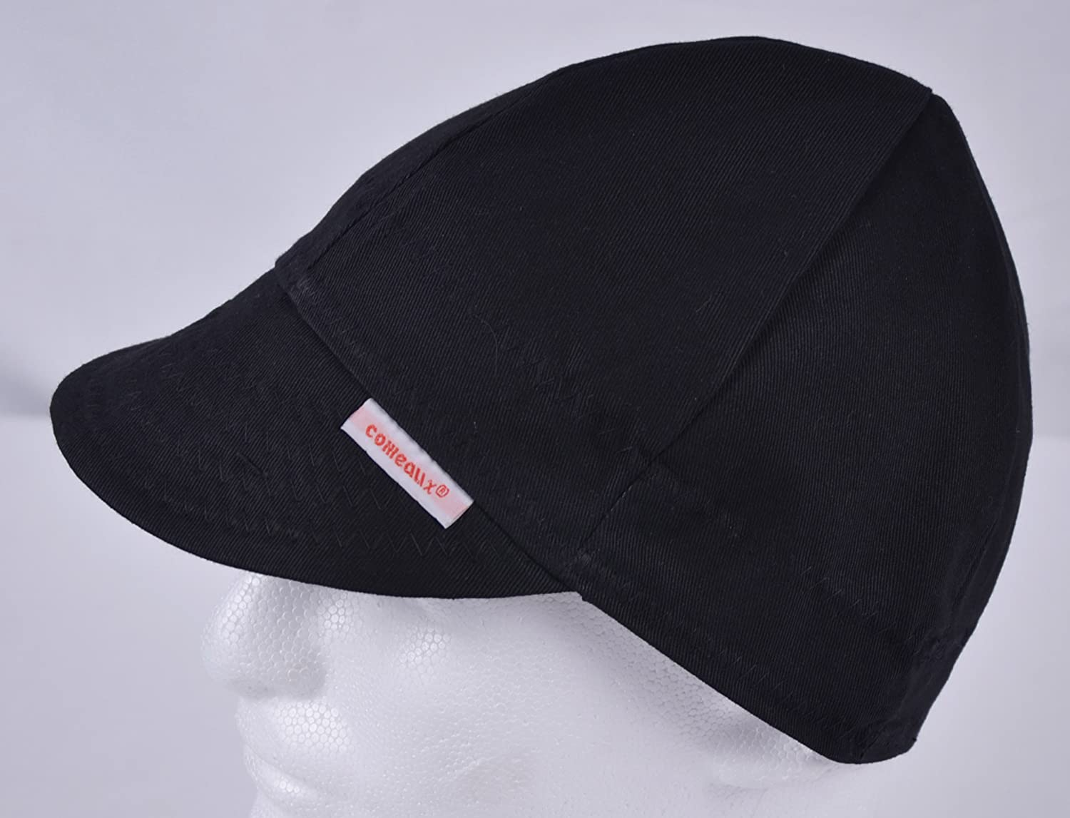 Comeaux Caps Reversible Welding Cap Solid Black 7 1 4