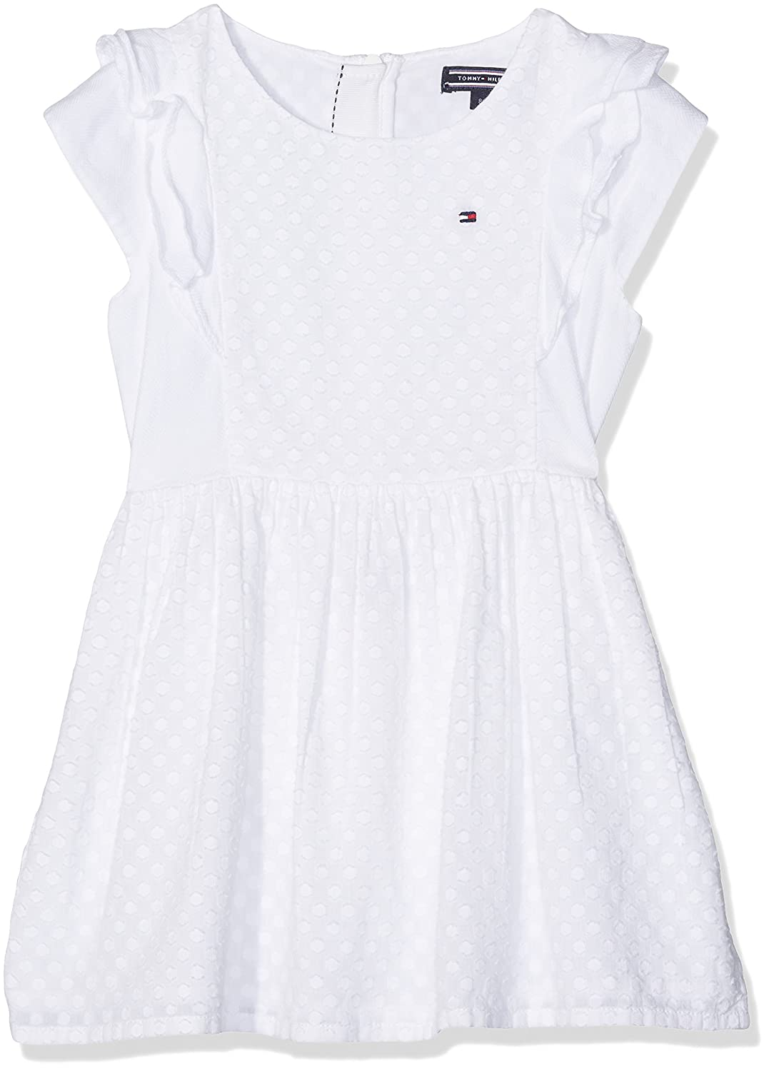 Tommy Hilfiger M Dobby Mix Dress S/S, Robe Fille