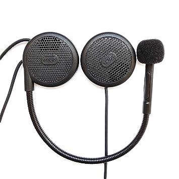 NikoMaku Auriculares para casco de motocicleta del casco de la motocicleta para los auriculares inalámbricos de