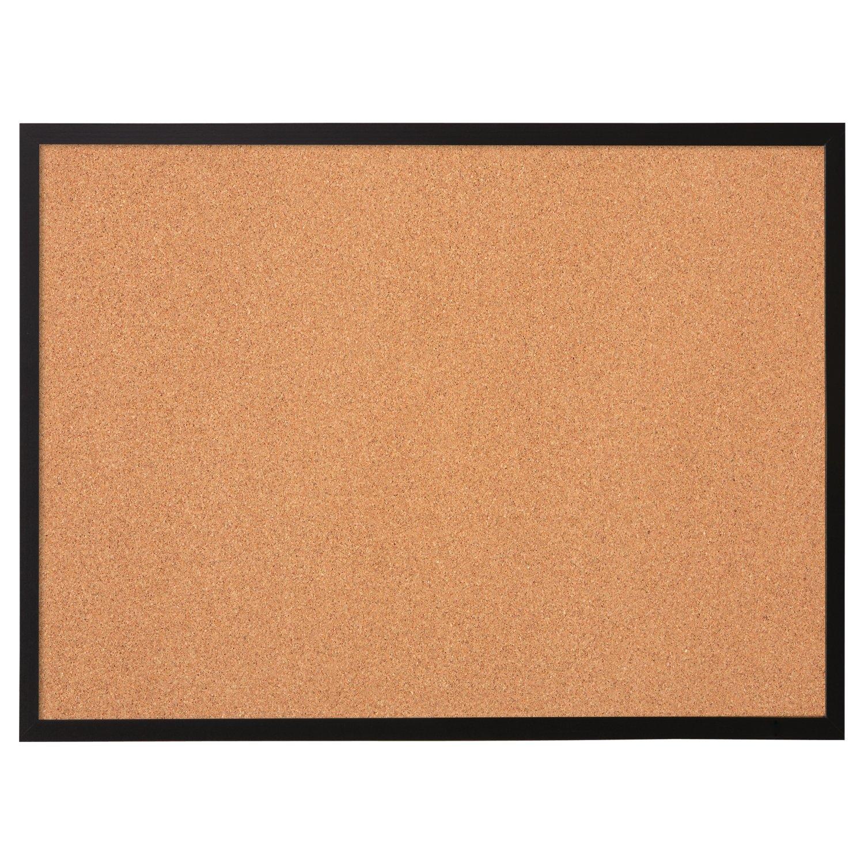 amazon com quartet 17 x 23 cork bulletin board wood frame