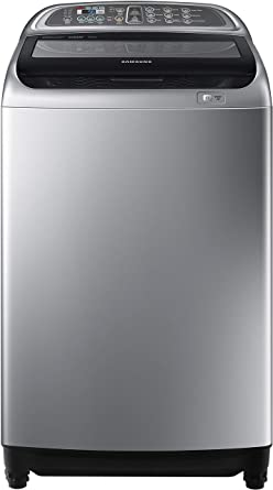 Samsung WA90J5730SS/TL Fully-automatic Top-loading Washing Machine (9 Kg, Silver)