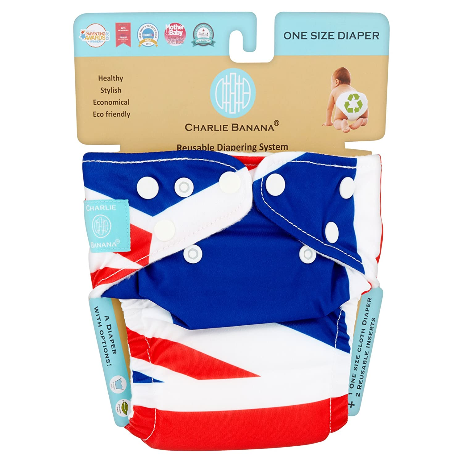 Amazon.com: Branded Charlie Banana One Size Diaper , - Branded Diapers with fast delivery (Soft and Comfortable for Babies): Health & Personal Care