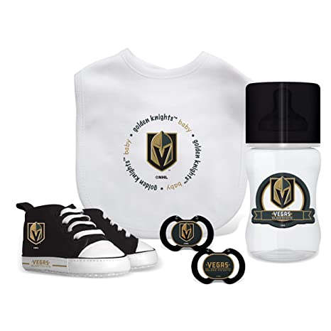 buy popular aa5f7 61e90 Amazon.com : Baby Fanatic NHL Vegas Golden Knights Infant ...