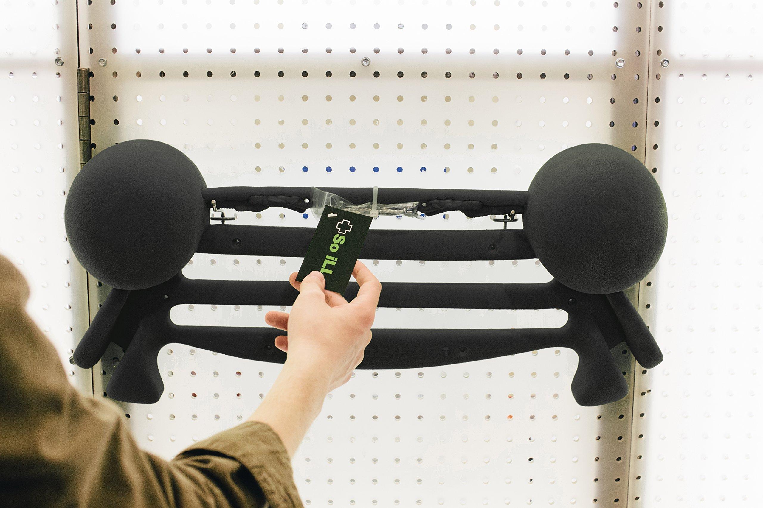 So iLL Iron Palm Hangboard - Black