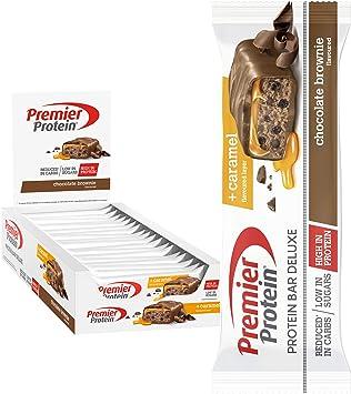 Premier Protein Bar Deluxe Chocolate Brownie 18x50g - Alta ...