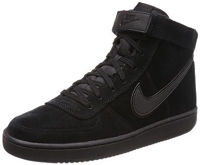 fc7d1bbc4fb Nike Men s Vandal High Supreme LTR Black   - High-Top Suede Fashion Sneaker  8.5