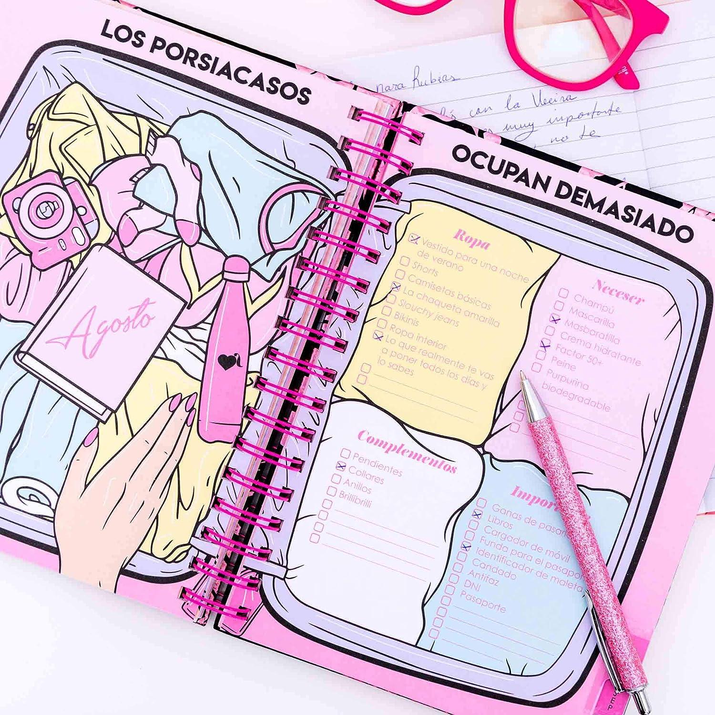 Agenda escolar 2020-2021 La Vecina Rubia (TANTANFAN): La Vecina Rubia: Amazon.es: Oficina y papelería