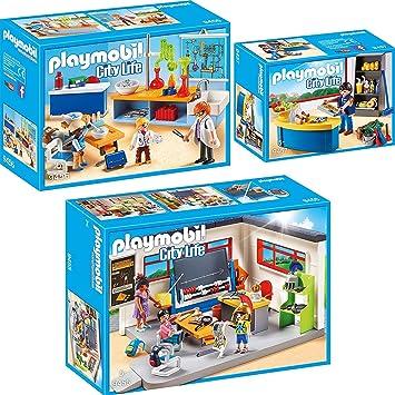 Playmobil 9457 Hausmeister mit Kiosk PLAYMOBIL City Life