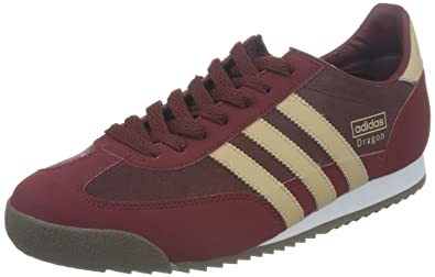 6a62dcc4dba8f8 adidas Originals Dragon Baskets pour Adulte Unisexe - Rouge - Burgund  (Marred/Orinud/