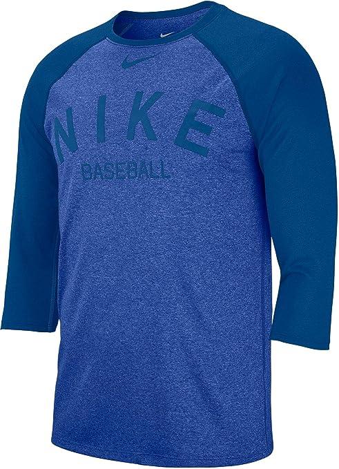 41ece59f7f9a Amazon.com  Nike Men s Dry Cross-Dye Legend Baseball T-Shirt(Game ...