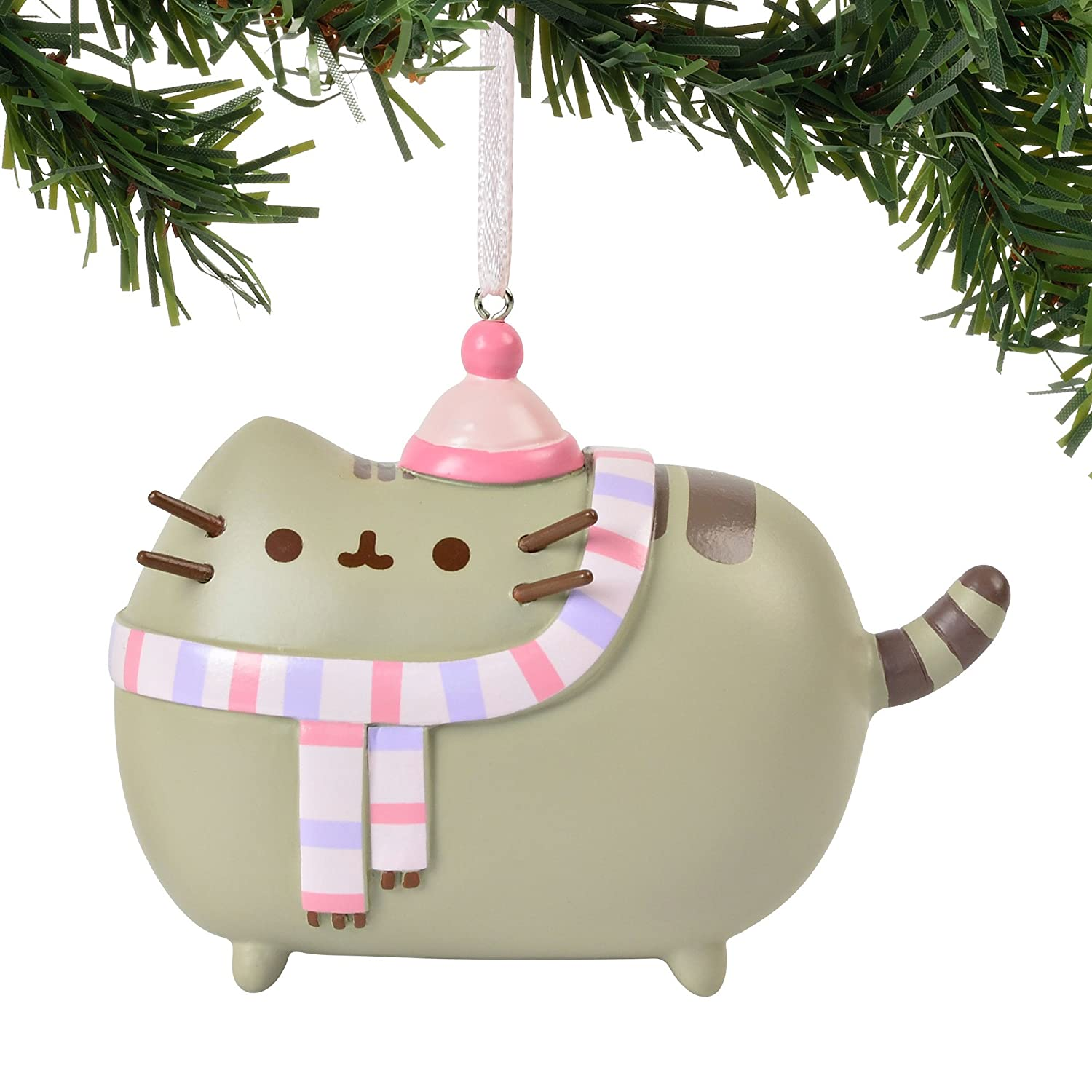 Amazon.com: Pusheen Hanging Ornament with S-Hook (Winter, 4058302 ...