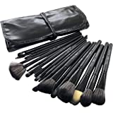 Puna Store 18 Piece Makeup brush Set (black)