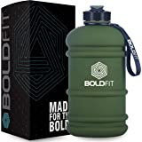 Boldfit Gym Gallon Water Jug Bottle (2.2 Litre, Extra Large) (Army Green)