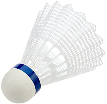 VICTOR Badmintonball Nylonshuttle 400 medium 6er Dose weiß Plastik Federball Weitere Ballsportarten Bälle