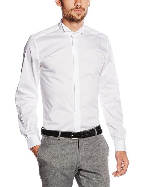 8c4adb31 Antony Morato Camicia Smoking Slim, Camisa para Hombre: Amazon.es ...