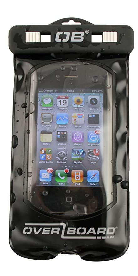 100% authentic ad73a 764b0 Overboard Waterproof Smart Phone Case, Black, Small