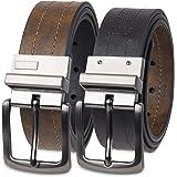 Levi 's Hombre Piel cinturón reversible (con Big & Tall tamaños)