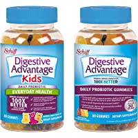 Deals on 2-Pack Daily Probiotic Gummies, Digestive Advantage 80 Count
