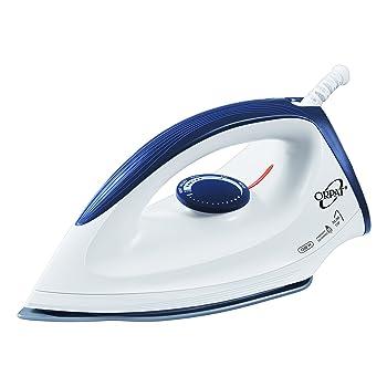 Orpat OEI 187 1200-Watt Dry Iron (White and Blue)