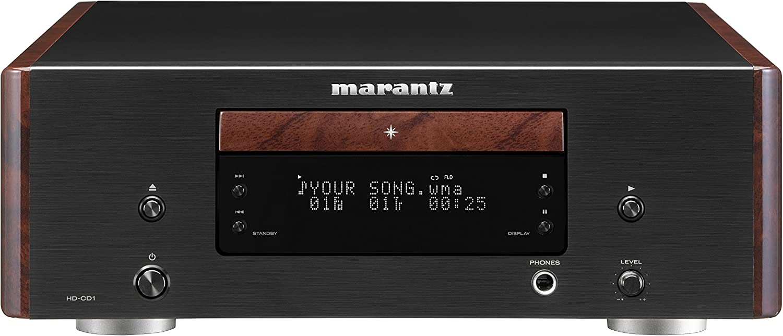 24-bit//192kHz, 110 dB, 0,002/%, 100 dB, MP3,WMA, 2-20000 Hz Marantz HD-CD1 HiFi CD Player Negro Unidad de CD