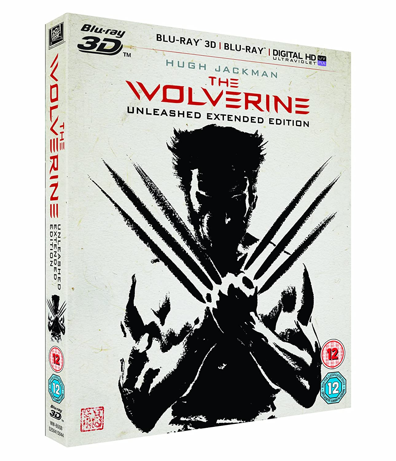 Amazon.com: Wolverine 3d [Blu-ray]: Movies & TV