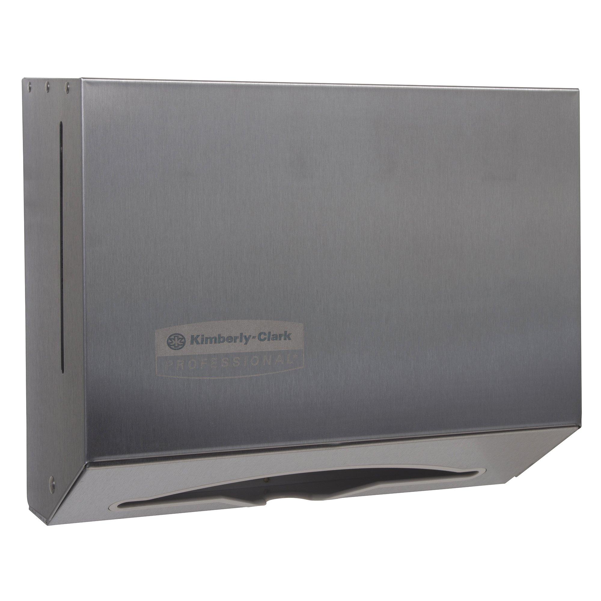 SCOTTFOLD 09216 Stainless Steel Compact Towel Dispenser