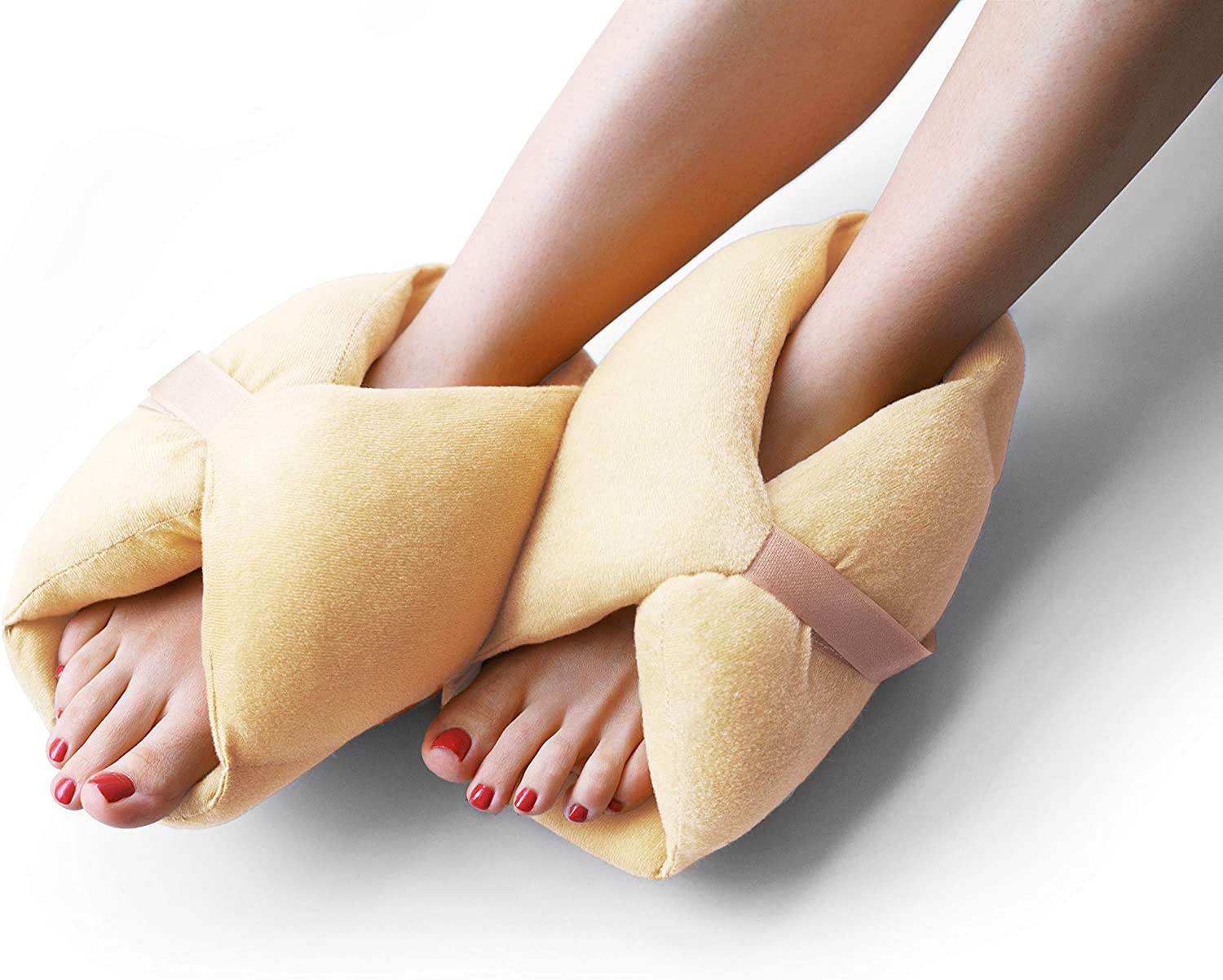 Bed Sores Heel Protectors - Protector Cushions for Pressute Sores - One Pair of Pressure Sore Foot Pads Pillows Suitable for Heels Feet Ankle Elbow