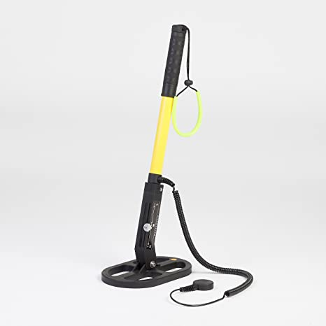 Profesional bajo el agua de detector de metales uwm 30 ovalado Sonda Negro de amarillo,
