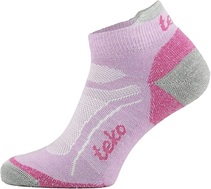 Teko Merino Sinergi Light Cushion Crew Height Hiking Socks Women
