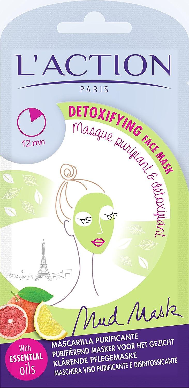 Il Paris Azione Maschera purificante e disintossicante 3 Lot L' Action Paris