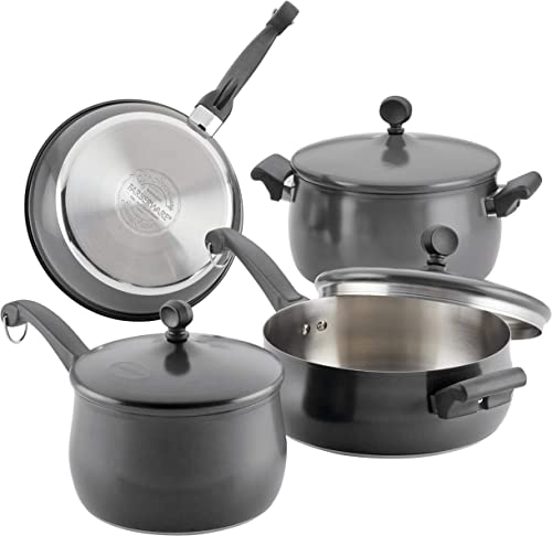Farberware 120 Limited Edition Stainless Steel Cookware Pots and Pans Set