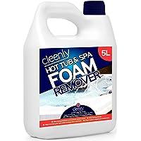 Cleenly - Removedor de espuma para bañera de hidromasaje y spa para desespumar, antiespuma para bañeras de hidromasaje y…