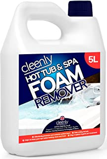 Cleenly Hot Tub & Spa Foam Remover for Defoaming - Anti Foam for Hot Tubs &