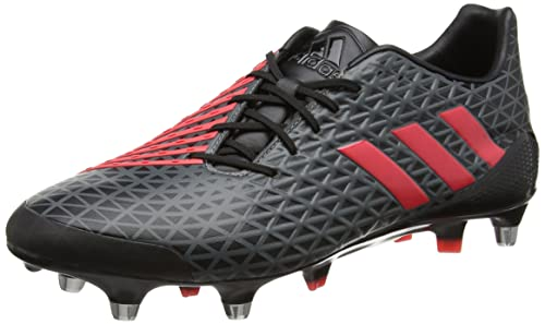 lowest price b52ab af163 adidas Predator Malice SG, Scarpe da Rugby Uomo, Nero (NegbasRojimp