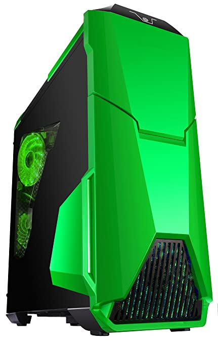 Cortek Warthog Torre Negro, Verde Carcasa de Ordenador ...