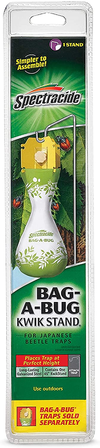 Spectracide 56904 Bag-A-Bug Kwik Stand (HG-56904), 1Pack, Silver