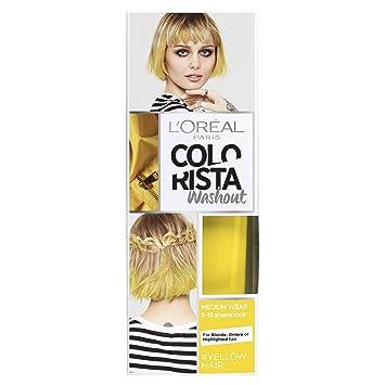 a61a2281519 L'Oreal Paris Colorista Washout Yellow Neon Semi-Permanent Hair Dye 80ml
