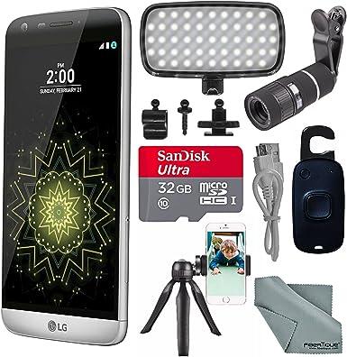 LG G5 RS988 32 GB Smartphone (Desbloqueado, titán) y Paquete de ...