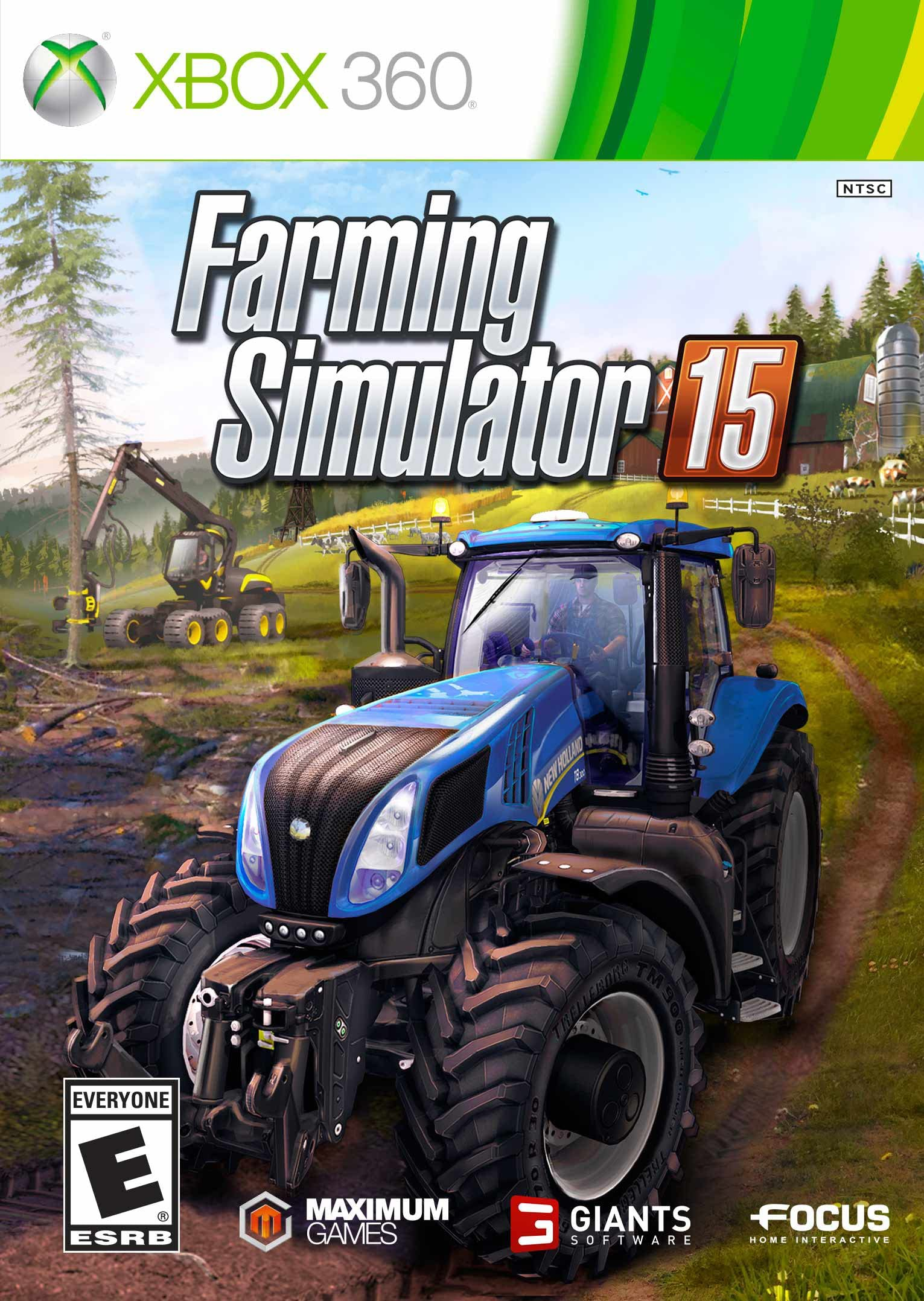 Amazon com: Farming Simulator 15 - Xbox 360: Maximum Family