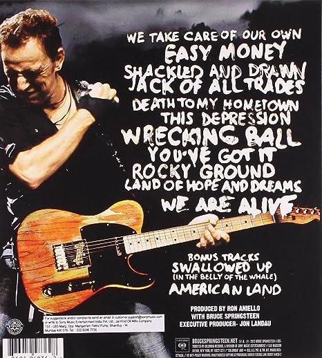 Bruce Springsteen - Wrecking Ball - Amazon.com Music
