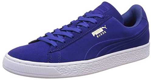 Puma Unisex Adults' Suede Classic Debossed Q3 Trainers, Blu (Mazarine Blue),
