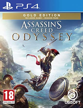 Buy Assassins Creed Odyssey Gold Edition Ps4 Online At Low Prices In India Video Games Amazon In