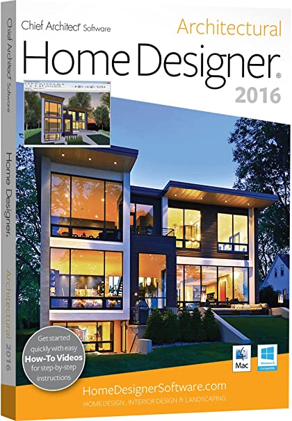 Chief Architect Home Designer Architectural 2016 PC Mac Software